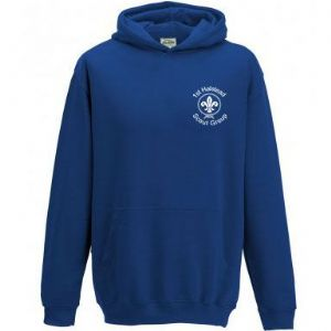 1st Halstead Scouts Hoodie - Childs & Adults